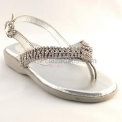 Sandalias de dedo en piel, de Lea Lelo