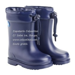Botas de agua para niño o niña en azul marino, de Igor