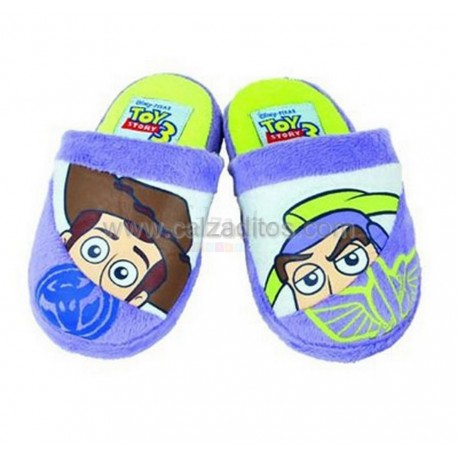 Zapatillas de estar en casa lilas de Toy Story 3