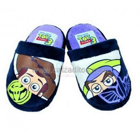 Zapatillas de estar en casa azules de Toy Story 3