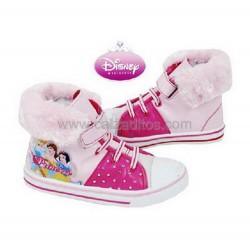 Botas casual rosas para niña de Princesas de Disney