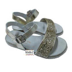 Sandalias para niña con suela bio de Andanines