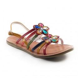 Sandalias de piel de colores, de Gioseppo