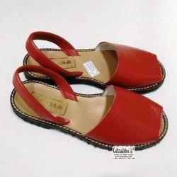 Ibicencas de piel roja de Carlota by Josma (Villena)
