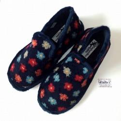 Zapatillas de estar en casa cerradas con suela relax de Zel's