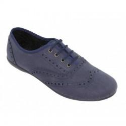 Zapatos tipo blucher con cordones y picados, de Batilas