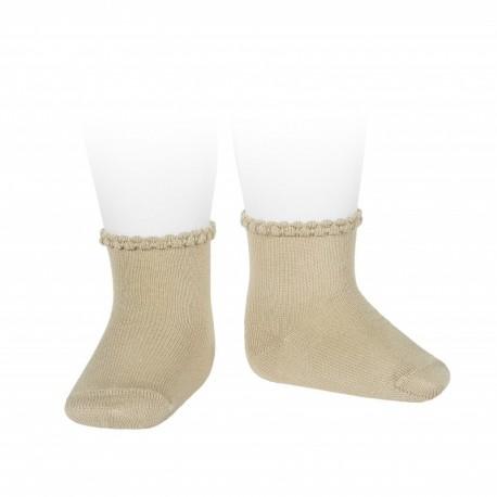 Calcetines de bebé con puño labrado de Cóndor