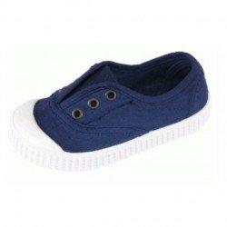 Zapatillas de lona con puntera y efecto deslavado de Lonettes Zapy