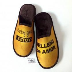Zapatillas para estar en casa para chico con suela relax de la marca Zel's