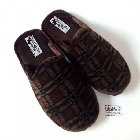 Zapatillas de casa para chico con suela relax de la marca Zel's
