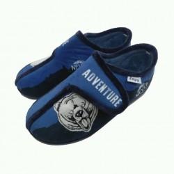 Zapatillas de estar en casa para niño con velcro, de Zapy