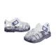 Sandalias de agua en goma transparente con hebilla modelo Cholo, de Igor