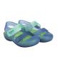 Zapatillas de agua unisex con velcro modelo Bondi bicolor marino/verde, de Igor