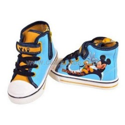 Botas para niño/niña de lona de color turquesa de Mickey & Pluto