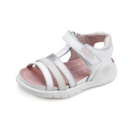 Sandalias para niña en piel de Biomecanics de Garvalín