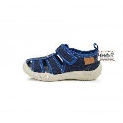 Sandalias de loneta para niño con velcro de D.D. Step