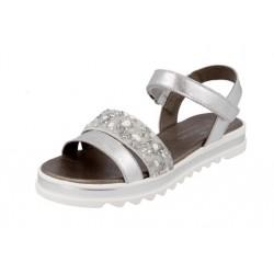 Sandalias para niña o chica con plataforma ondeada de Andanines