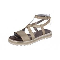 Sandalias tipo romana para niña o chica con piso grueso ondeado de Andanines