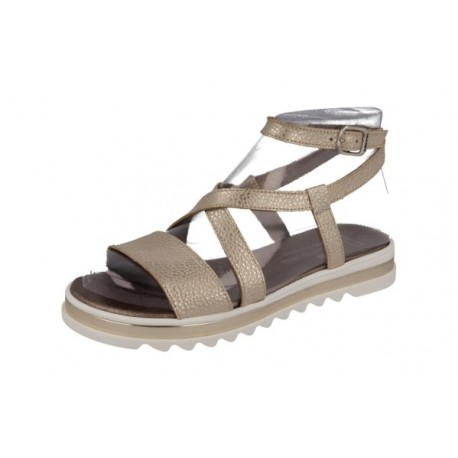 90b8a7cc3 Sandalias tipo romana para niña o chica con piso grueso ondeado de Andanines