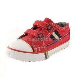 Zapatillas de lona rojas de Zapy
