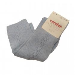 Calcetines altos con trenzado en los laterales, de Cóndor