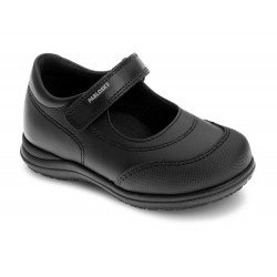 Zapatos colegiales de piel para niña, de Pablosky