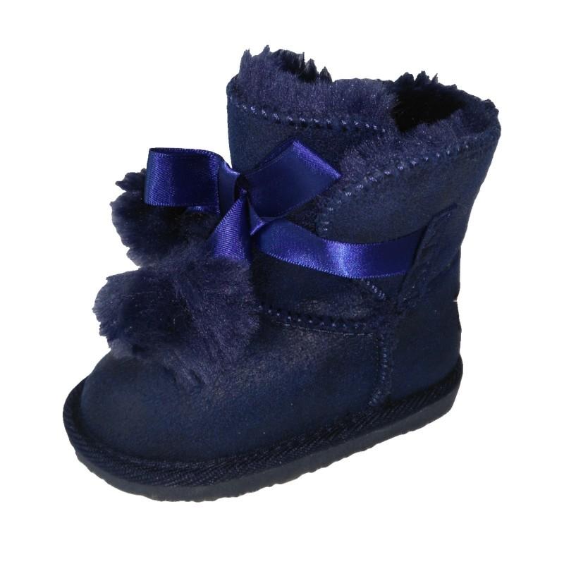 641f5e5838e ... Botas australianas para niña con pompones de Osito de Conguitos ...