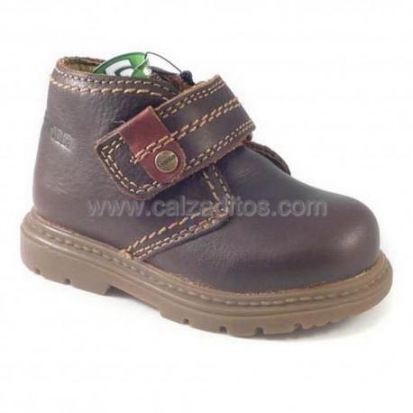 Botas de piel color marrón para niño/chico, de Gorila