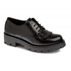Zapatos de cordones de piel florentic con suela gruesa de Pablosky