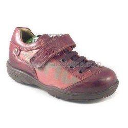 Zapatos burdeos de piel para niño/chico, de Gorila