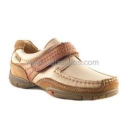 Zapatos de piel en camel-beig, de Gorila