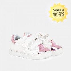 Deportivos solares rosas para niña de Osito by Conguitos