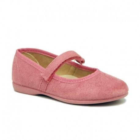 Merceditas de serratex rosa, de Vulnanes