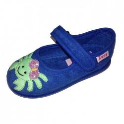 Zapatillas de estar en casa para niña con pez de Zapy