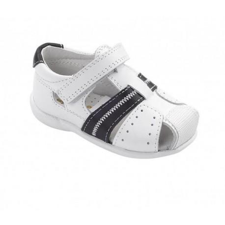Sandalias de piel para niño de la marca D'Bebé