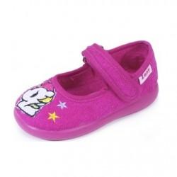 Zapatillas de estar en casa para niña con unicornio de Zapy