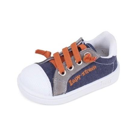 82877c9ca Zapatillas para niño de Zapy tipo basket con cremalleras