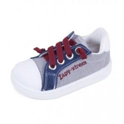 Zapatillas para niño de Zapy tipo basket con cremalleras