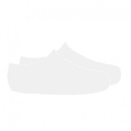 Calcetines invisibles de punto liso blanco, de Cóndor
