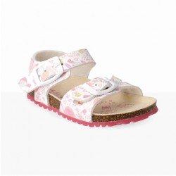 Sandalias para niño tricolores con piso bio de Garvalín