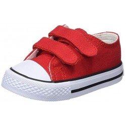 Zapatillas de lona unisex con velcros de Osito by Conguitos