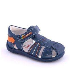 Sandalias para niño de primeros pasos en azul, de Pablosky