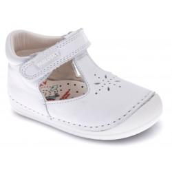 Zapatos de piel tipo gatea unisex de Pablosky