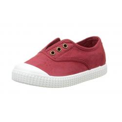 Zapatillas de lona en color rojo de Victoria