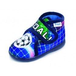 Zapatillas de estar en casa para niño de fútbol marca Zapy