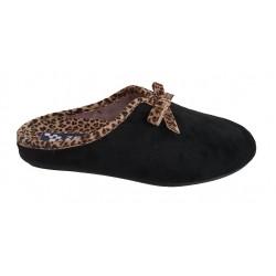 Zapatillas-pantuflas de estar en casa con estampado de leopardo, de Zel's