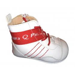 Botas sin suela de estilo boxeo para bebé de Peuques