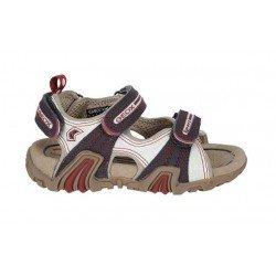 Sandalias Geox para chico con velcros
