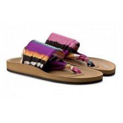 Sandalias de suela bio y textil de Gioseppo