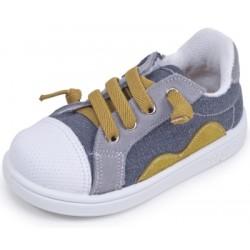 Zapatillas para niño tipo basket con cremalleras de Zapy